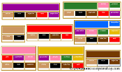Elementary Grammar Bundle (Boxes #2-9) with Traditional Colors - Printable Montessori Materials for home and school.