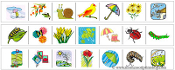 Spring Cutting Strips - Printable Montessori Practical Life Materials by Montessori Print Shop.
