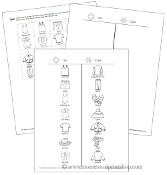Hot or Cold - What to Wear? - Blackline Masters - Printable Montessori Learning Materials by Montessori Print Shop.