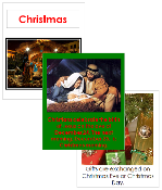 Christmas Cards and Booklet - Printable Montessori celebration materials by Montessori Print Shop.
