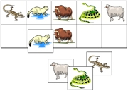 Animal Match-Up & Memory Game - Printable Montessori Learning Materials by Montessori Print Shop.