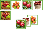 Apple Matching Cards - Printable Montessori Materials by Montessori Print Shop.