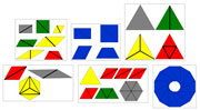Printable Constructive Triangles - Printable Montessori Materials for home and school.