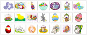 Easter Cutting Strips - Printable Montessori Practical Life Materials by Montessori Print Shop.