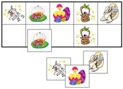Easter Match-Up & Memory Game - Printable Montessori Learning Materials by Montessori Print Shop.
