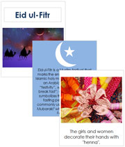 Eid ul-Fitr Cards and Booklet - Printable Montessori Learning Materials by Montessori Print Shop.