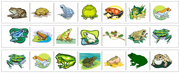 Frog Cutting Strips - Printable Montessori Practical Life Materials by Montessori Print Shop.