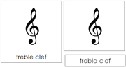 Musical Note and Symbol Cards - Printable Montessori Learning Materials by Montessori Print Shop.