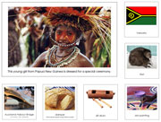Australia/Oceania Geography Bundle - Printable Montessori Geography Materials for home and school.