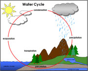 Water Cycle - Printable Montessori Science Materials by Montessori Print Shop.