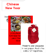 Chinese New Year Cards - Printable Montessori celebration materials by Montessori Print Shop.