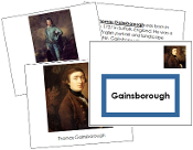 Thomas Gainsborough Art Book (borderless) - Printable Montessori materials by Montessori Print Shop.