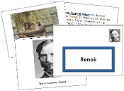 Renoir Art Book - Printable Montessori materials by Montessori Print Shop.