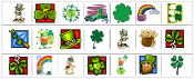 St. Patrick's Day Cutting Strips - Printable Montessori preschool Materials by Montessori Print Shop.