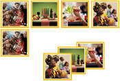 Kwanzaa Matching Cards - Printable Montessori preschool materials by Montessori Print Shop.