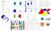 Montessori Geometry materials - Printable Montessori Math Materials by Montessori Print Shop.