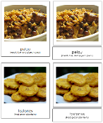 North American Food Cards - Printable Montessori geography materials by Montessori Print Shop.