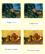 Paul Cezanne Art Cards - Printable Montessori materials by Montessori Print Shop.