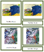 Marc Chagall Art Cards - Printable Montessori materials by Montessori Print Shop.