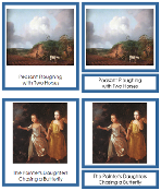 Thomas Gainsborough Art Cards - Printable Montessori materials by Montessori Print Shop.