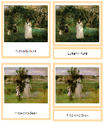 Berthe Morisot Art Cards - Printable Montessori materials by Montessori Print Shop.