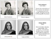 Great Women of Canada - Printable Montessori History Cards