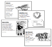 Twelve Months of Poetry - Printable Montessori Language Materials for home and school.