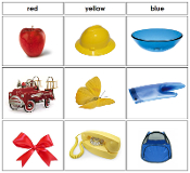 Color Sorting - Printable Montessori Cards by Montessori Print Shop.