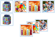 Birthday Matching Cards - Printable Montessori preschool materials by Montessori Print Shop.