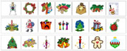 Christmas Cutting Strips - Montessori Practiacl Life Materials by Montessori Print Shop.