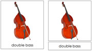 Musical Instrument Cards Set 2 - Printable Montessori Classified Cards by Montessori Print Shop.