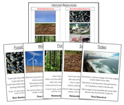 Natural Resources - Printable Montessori science materials by Montessori Print Shop.