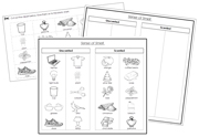 Sense of Smell Sorting Blackline Masters - Printable Montessori Science Cards by Montessori Print Shop.