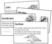 Short Poetry - Printable Montessori materials by Montessori Print Shop.