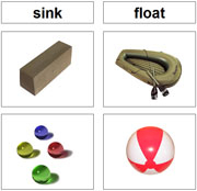 Sink and Float - Printable Montessori Zoology Cards by Montessori Print Shop.