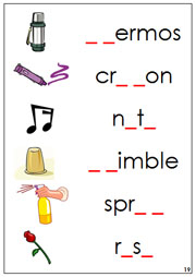 Phonogram Sound Cards #2 - Printable Montessori Language materials by Montessori Print Shop