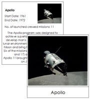 US Space Missions - Printable Montessori Astronomy Materials by Montessori Print Shop