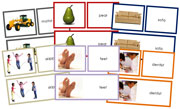 Words & Picture Cards Bundle - Printable Montessori materials by Montessori Print Shop
