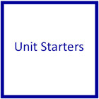 Basic Unit Starters - Printable Teaching materials for Montessori learning in the home or at school.